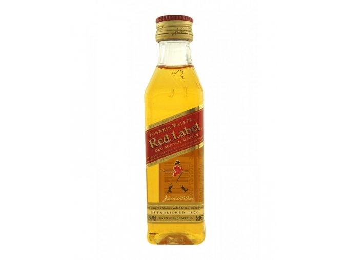 Johnnie Walker Red, miniatura, 0,05l