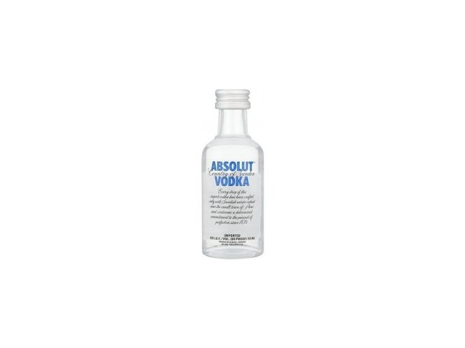 Absolut vodka, miniatura, 0,05l