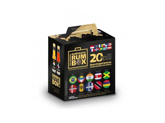 Rumtastic box dárková sada miniatur 20x0,02l