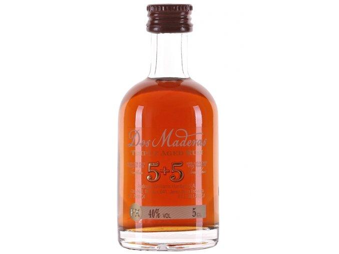 Dos Maderas P.X. 5+5 10 YO, miniatura, 40%, 0,05l