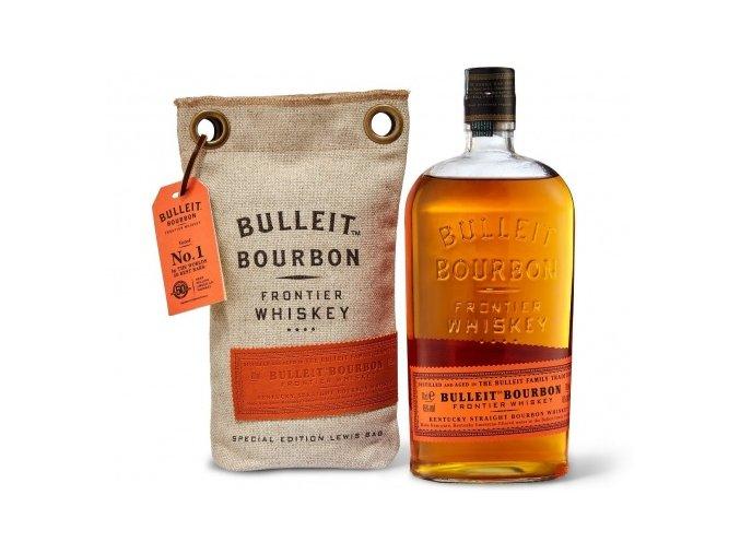Bulleit Bourbon Frontier Lewis Bag Bourbon, 45%, 0,7l