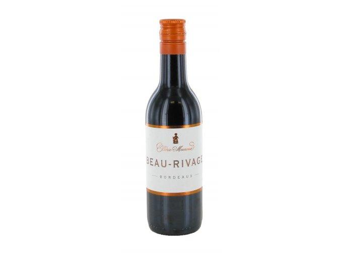 Bordeaux Beau Rivage červené, 0,187l
