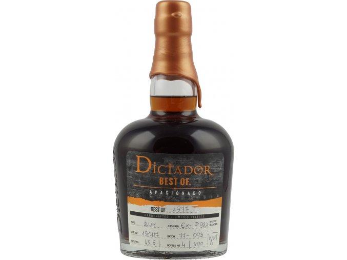 Dictador 1977 Limited Edition, 44%, 0,7l