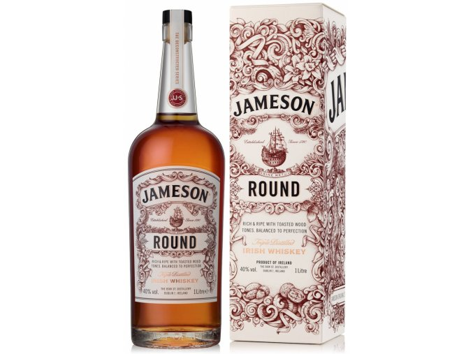 Jameson Round, Gift Box, 40%, 1l
