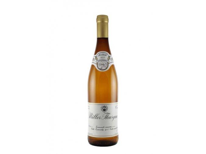 Muller Thurgau, 2018, suché, Žernosecké vinařství, 0,75l