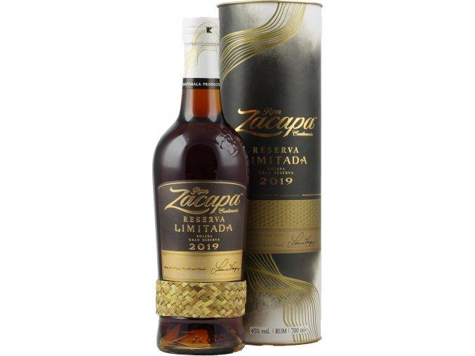 Ron Zacapa Reserva Limitada 2019 0 7 Liter 45 Vol .11594a