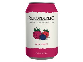 Rekorderlig Cider Wild Berries 33 cl Can