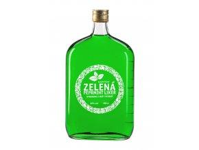 Bartida Zelená Peprmint Likér, 20%, 1l