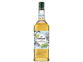 Giffard Elderflower, bezinkový sirup, 1l