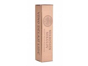 Papírová krabička na 1 láhev vinařství Mikrosvín