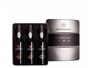 J.H. Andresen Reserve Trio Port, 3x375ml