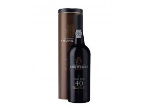 J.H. Andresen 40 Year Old Port, 0,75l