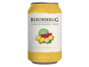 Rekorderlig Cider Citrus Watermelon 33 cl Can