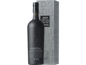 Portal 20 Year Old Aged Tawny Port, dárkový box, 0,75l