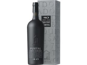 Portal 40 Year Old Aged Tawny Port, dárkový box, 0,75l