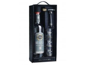 Beluga Gold Line + 3 skleničky, 0,7l
