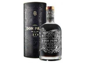 Don Papa 10 YO + tuba, 43%, 0,7l