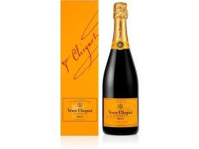 Veuve Clicquot Ponsardin Brut v dárkové krabičce, 0,75l