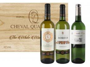 Sada 3 bílých vín Bordeaux Blanc, 3x0,75l