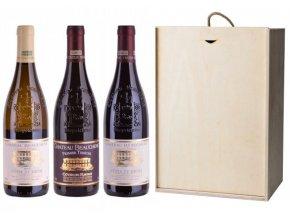 Sada 3 vín - Hvězdy Cotes du Rhone, 3x0,75l