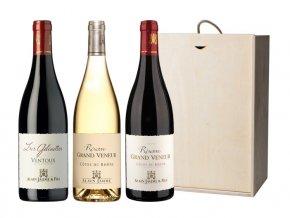 Sada 3 vín - Jižní Francie, 3x0,75l
