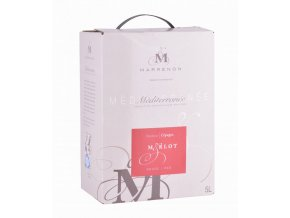 Marrenon - Merlot, bag in Box, 5l