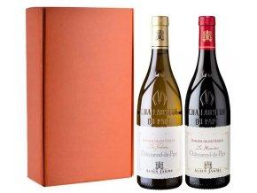 Châteauneuf du Pape Domaine Grand Veneur, Alain Jaume sada 2 vín, 2x0,75l