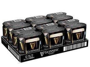 Guinness Stout Draught plech, 24x0,44l