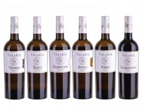 Dárkové balení vín Terroir 2019 ve dřevě, Volařík, 6x0,75l