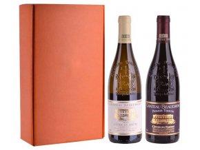 Sada 2 vín - Hvězdy Cotes du Rhone, Chateau Beauchene, 2x0,75l