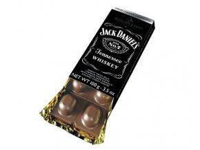 Goldkenn mléčná čokoláda plněná Whisky Jack Daniel's, 100g