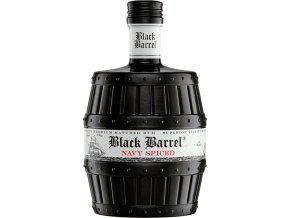 A.H. Riise Black Barrel Navy Rum, 0,7l