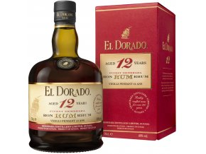 El Dorado 12 YO Rum, 0,7l