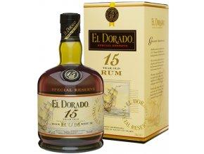 El Dorado 15 YO Rum, Gift Box, 40%, 0,7l