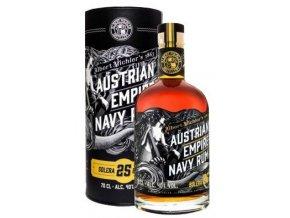 Austrian Empire Navy Rum Solera 25 YO + tuba, 0,7l