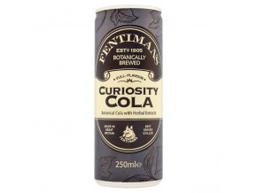 Fentimans Curiosity Cola, 250ml plech