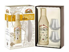 Millonario 15 YO Reserva Especial + 2 sklenice, Gift Box, 40%, 0,7l
