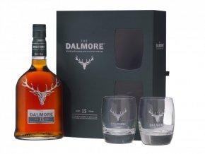 Dalmore 15 YO + 2 skleničky, 0,7l
