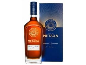 Metaxa 12*, Gift Box, 40%, 0,7l