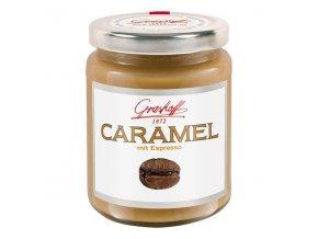 Karamelový krém s čokoládou, sklo, 250g