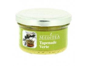 Tapenada ze zelených oliv s bazalkou, sklo 90g