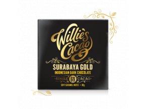 Čokoláda Willie's Indonesian Gold, Javan light breaking hořká 69%, 50g