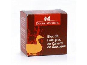 Kachní Foie Gras z regionu Gascogne v bloku (plech), 65g