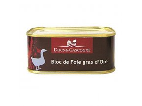 Husí Foie Gras z regionu Gascogne, plech 205g