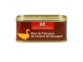 Kachní Foie Gras z regionu Gascogne, plech 205g