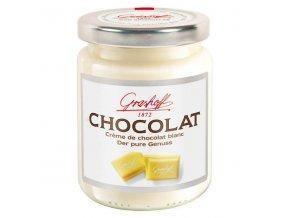 """Bílý čokoládový krém """"Čisté potěšení"""", sklo, 250g"""