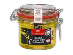 Kachní foie gras z regionu Gascogne v celku, bronzová medaile r. 2016, 180g