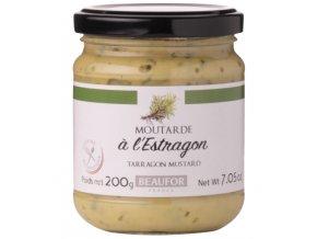 Francouzská hořčice s ESTRAGONEM (Moutarde a l'estragon), 200g