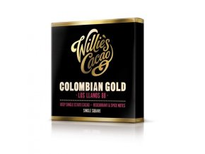 Čokoláda Willie's Colombian Gold, Los Llanos hořká 88%, 50g