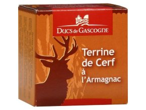 Jelení terina s Armagnacem, 65g
